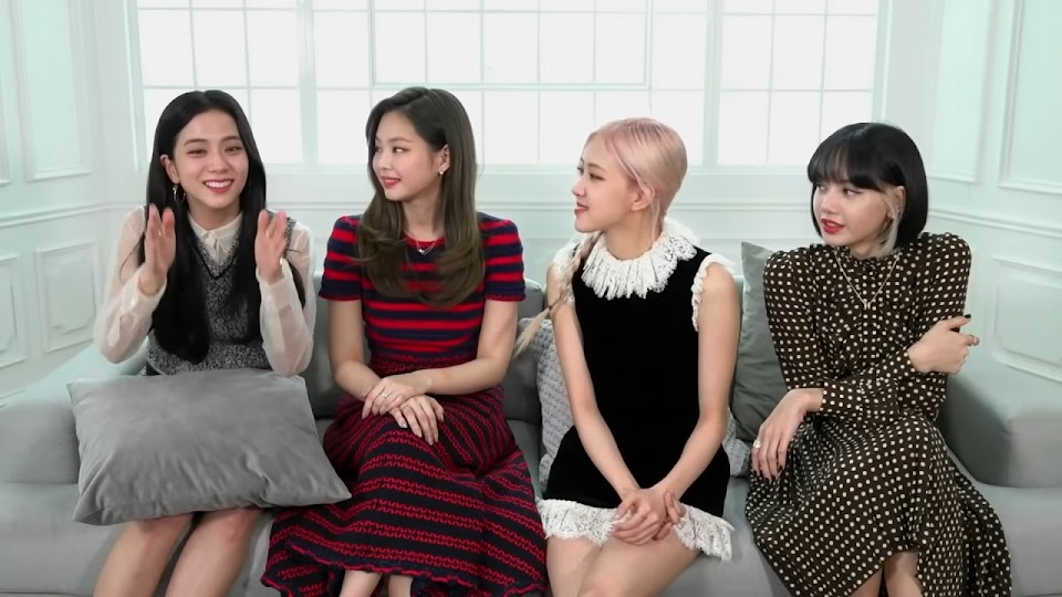 Jimmy Kimmel Interviews BLACKPINK! 2-20 screenshot