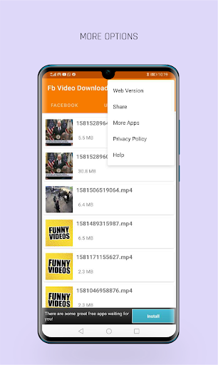 FastVid: Video Downloader for Facebook 4.3.12 Screenshots 6