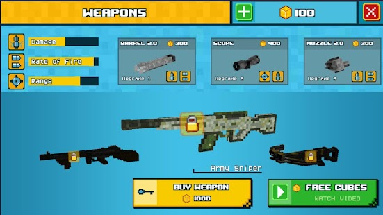 Skyblock Soldier Survival Game - náhled