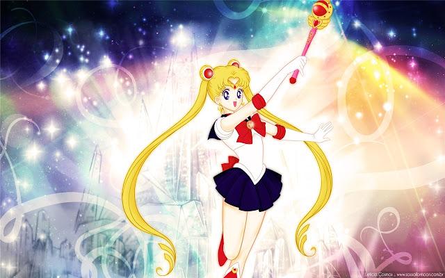 Sailor Moon Theme & New Tab
