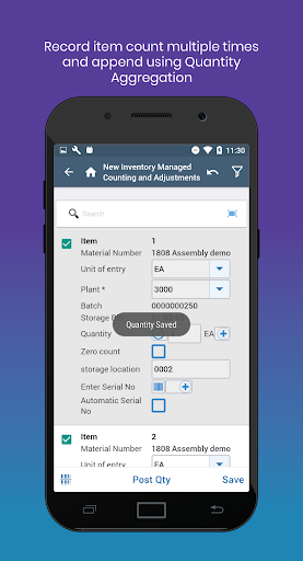 mInventory - Mobile Inventory & WM Solution 7.4.0 build 486 screenshots 3