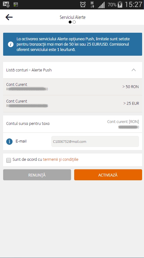 ING HomeBank- screenshot