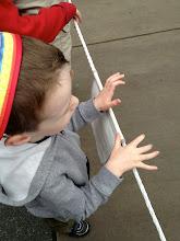 Photo: Rope drop