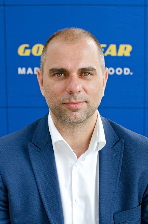 Goodyear South Africa managing director Piotr Czyzyk