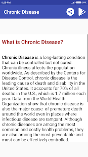 Chronic Diseases And Conditions - náhled