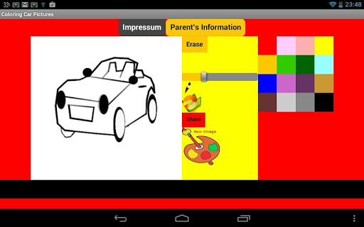 Coloring Pictures Cars