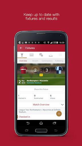 Fan App for Northampton Town