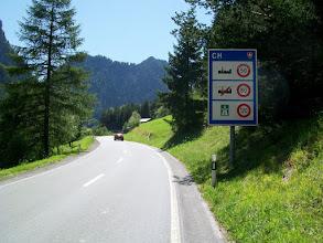 Photo: 12e Dag, maandag 27 juli 2009 Vertrek: Imst -Nauders Aankomst: 17.30 uur Dag afstand: 79,4 km,.Totaal gereden: 1059 km Op naar de Reschenpas nog een kort stukje door Zwitserland.