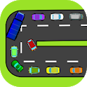 Energetic cars icon