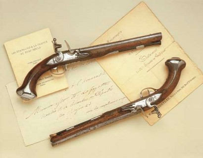 George Washington's $1.96m pistols
