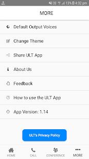ULT, Inc Screenshot