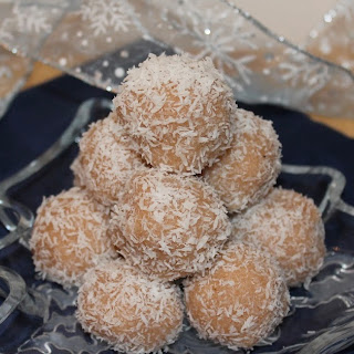 Honey-cinnamon Coconut Snowballs.