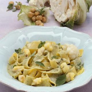 Monkfish and Cauliflower Pappardelle.