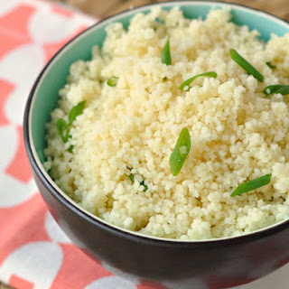 Scallion Couscous.