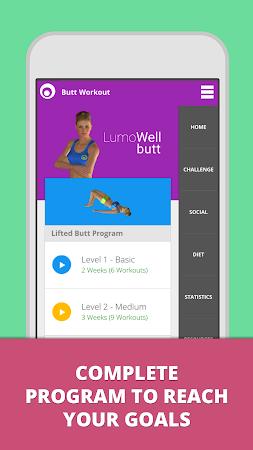 Butt Workout - LumoWell 1.7.10 screenshot 446990