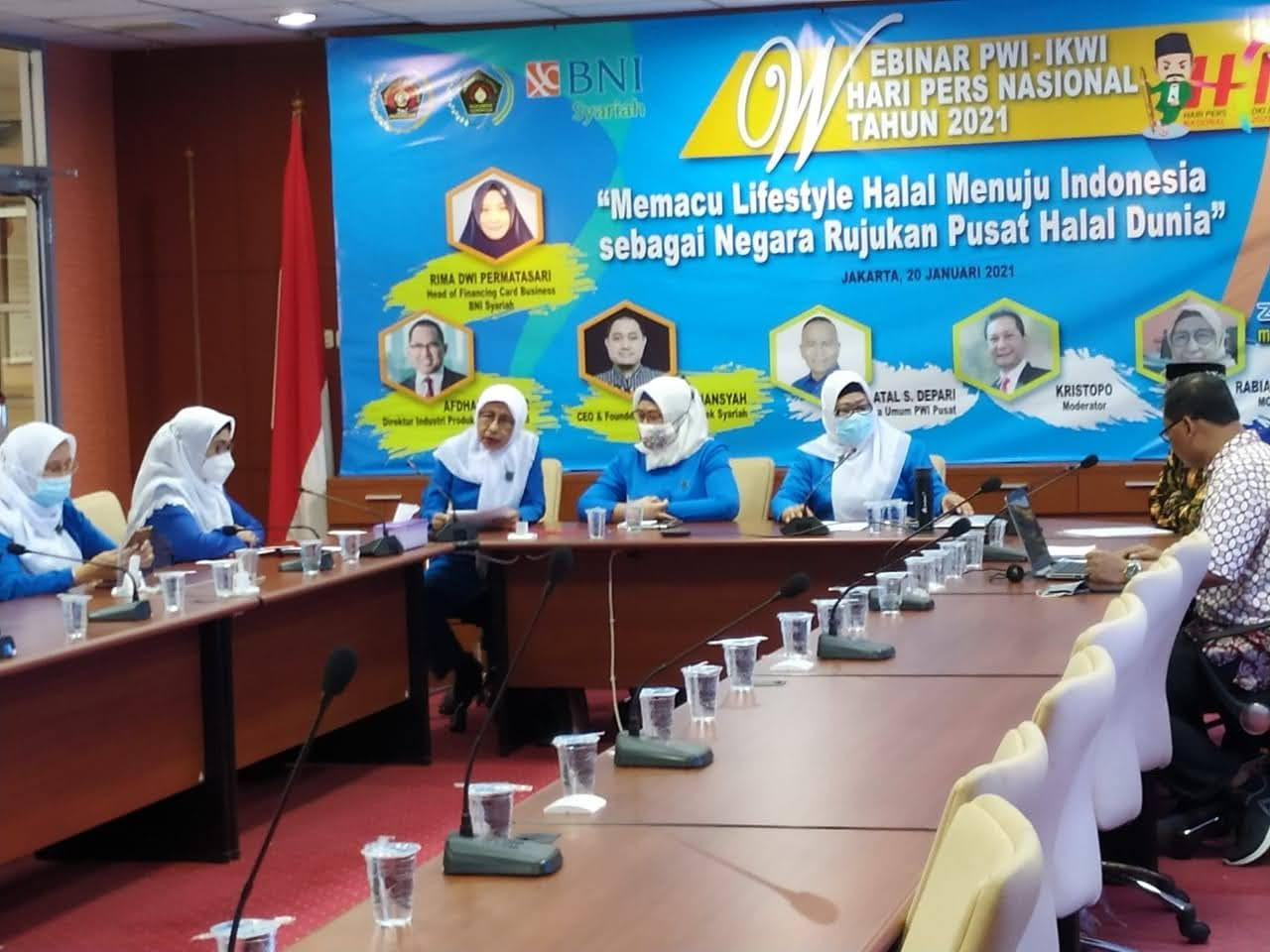 IKWI Gelar Webinar untuk Memacu Indonesia Jadi Pusat Halal Dunia.