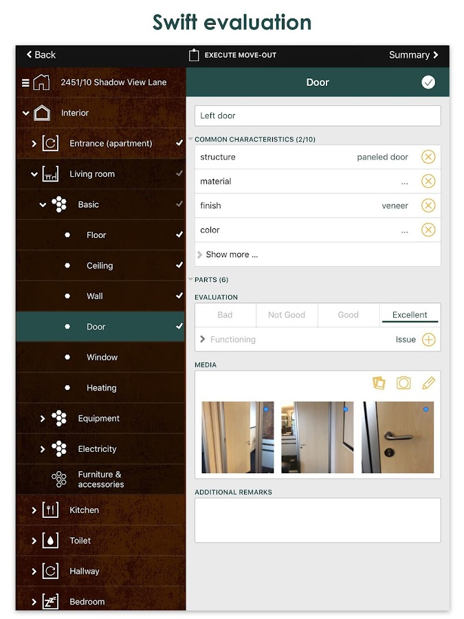 Chapps Rental Inspector- screenshot