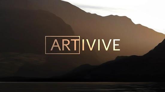 Artivive - náhled