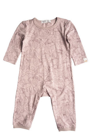By Heritage Petter Playsuit  print old pink