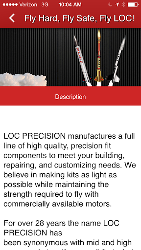 LOC Precision Rocketry|玩商業App免費|玩APPs