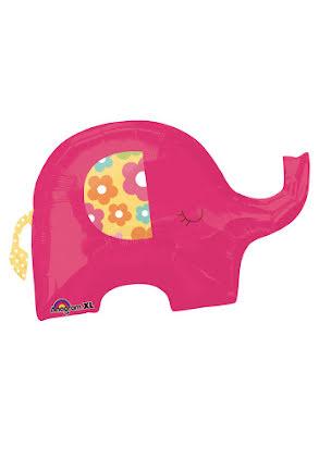 Folieballong, elefant
