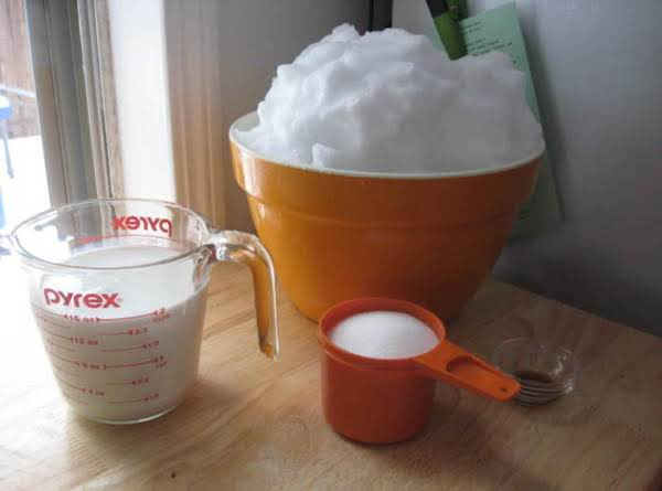 Snow ice cream recipe 3 just a pinch recipes ccuart Images