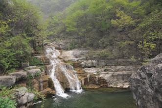 Photo: 雲台山風景區-潭瀑峽一景