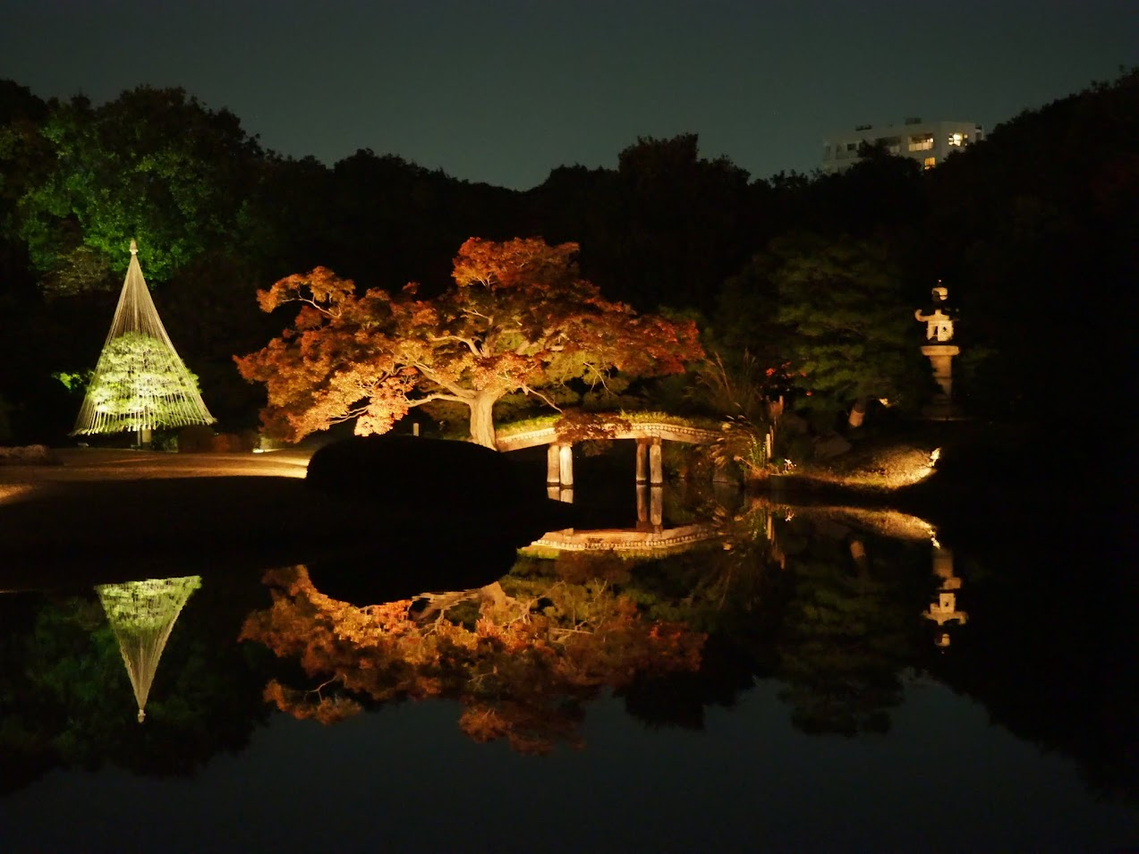 rikugien tokyo japon