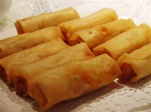Fruit Spring Rolls Recipe