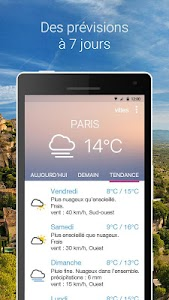 Météo Pocket screenshot 1