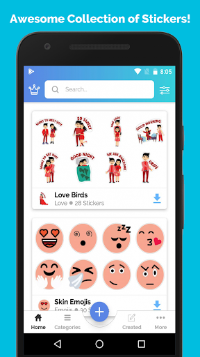 Stickers for WhatsApp - WAStickerApps ss1