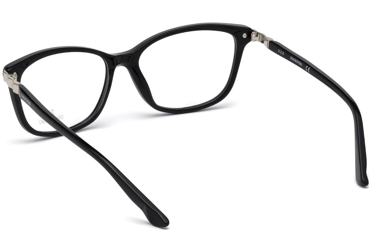 0a42967ff8ca Buy Swarovski Gilberta SK5185 C51 001 (shiny black   ) Frames