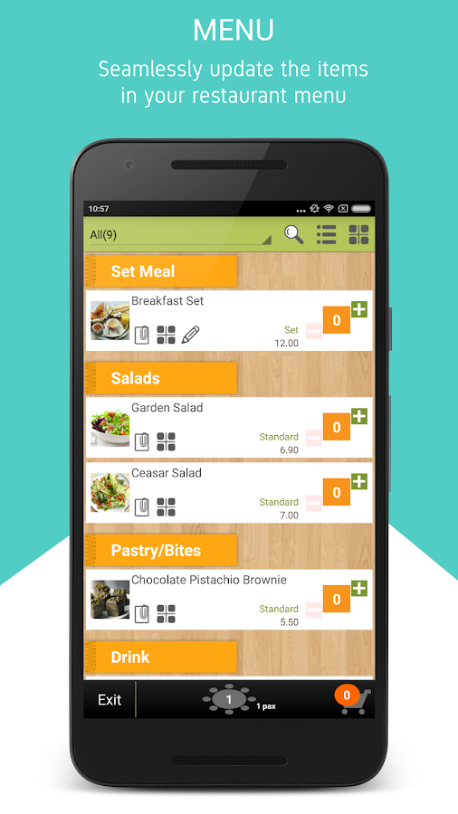 Restaurant Kitchen Order System restaurant pos + ordering - android apps on google play