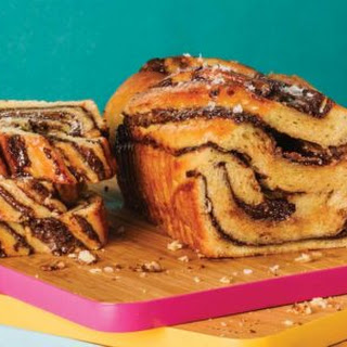 Peanut Butter and Dark Chocolate Babka