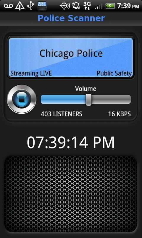 Police Scanner Live Screenshot 2
