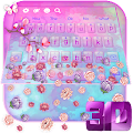 3D Pastel Flowers Gravity Keyboard Theme? APK