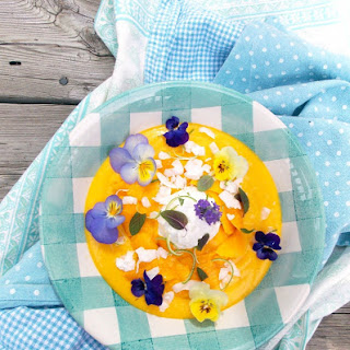 Mango – Coconut Dessert Soup.