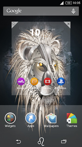 android For Xperia Theme Leo Screenshot 3