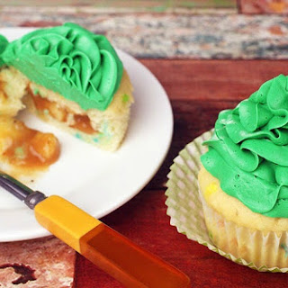 Gluten Free St. Patrick'S Day Pot of Gold Filled Cupcakes Recipe