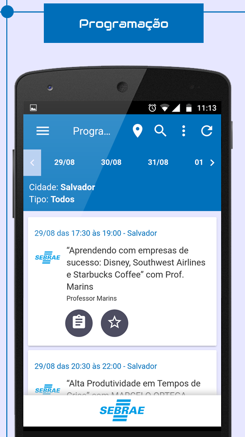 Semana Sebrae- screenshot