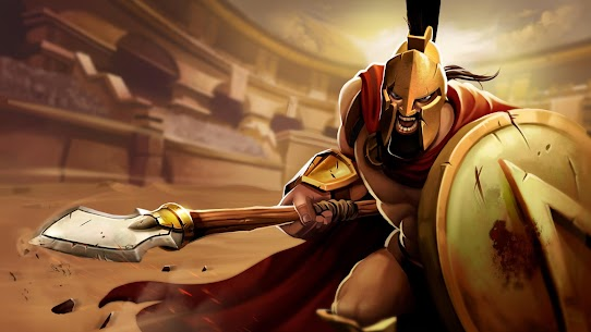 Gladiator Heroes Clash: Fighting and strategy game 5