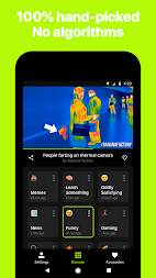 Neverthink: The TV of the Internet APK screenshot thumbnail 5