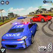 US Police Drift Car Driving: Police Chase Games