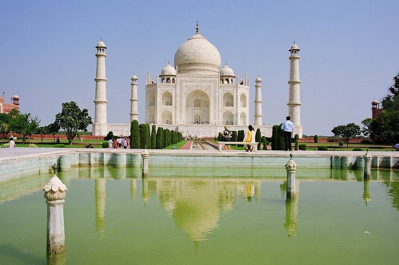 Photo: #192-Le Taj Mahal-Agra