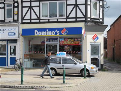 Dominos Pizza On Shirley Road Pizza Takeaway In