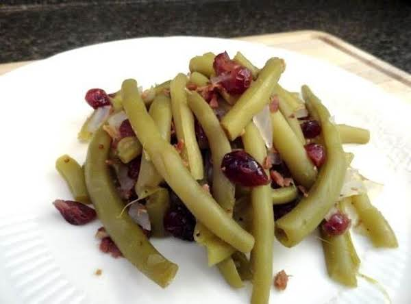 Greenbeans And Dried Cranberry
