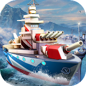 Battle Ship Craft:3D World War 2 of Warship Empire