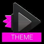 Dark Pink Skin - Rocket Player 2.0.64