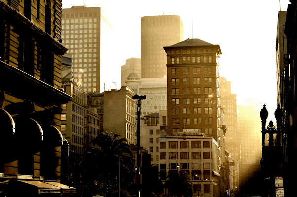 Magic light in San Francisco di donnavventura