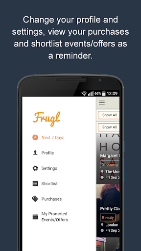 Frugl – Find events in London